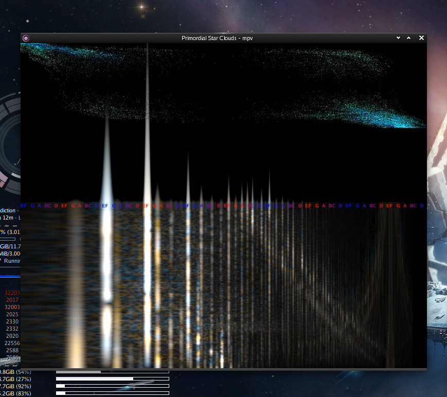 mpv ffmpeg visualization snapshot