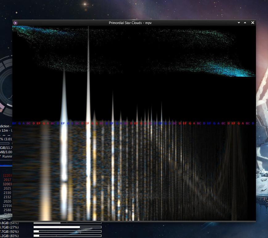 mpv ffmpeg visualization snapshot