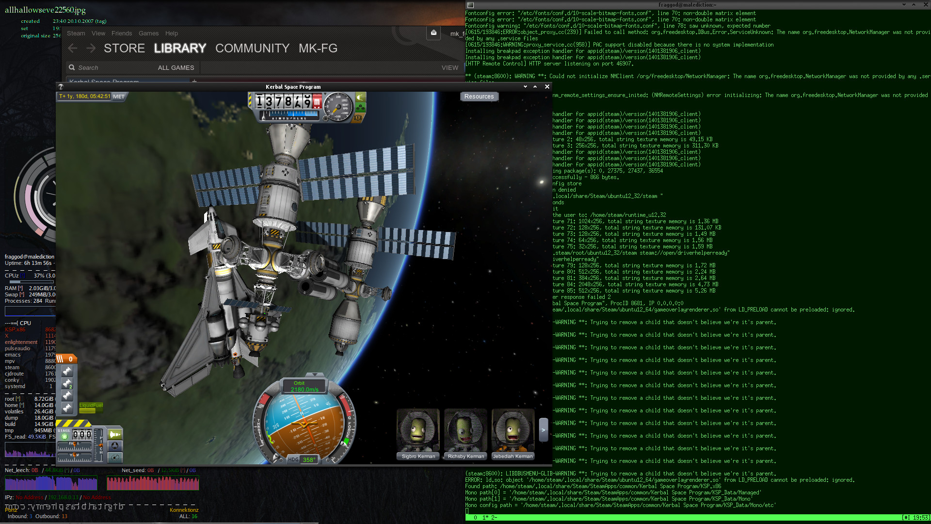 KSP and Steam on Linux